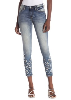 Miss Me Spring For It Mid-Rise Ankle Skinny Jeans