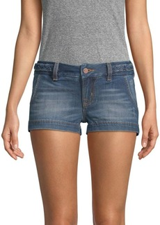 Miss Me Stretch Denim Shorts