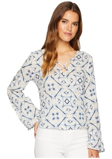 Miss Me V-Neck Bell Sleeve Top