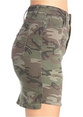 Miss Me Vintage Camo Mid-Rise Skirt
