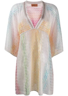 Missoni all-over print dressc