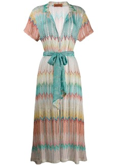 Missoni embroidered shift dress