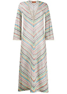 Missoni striped pattern dress