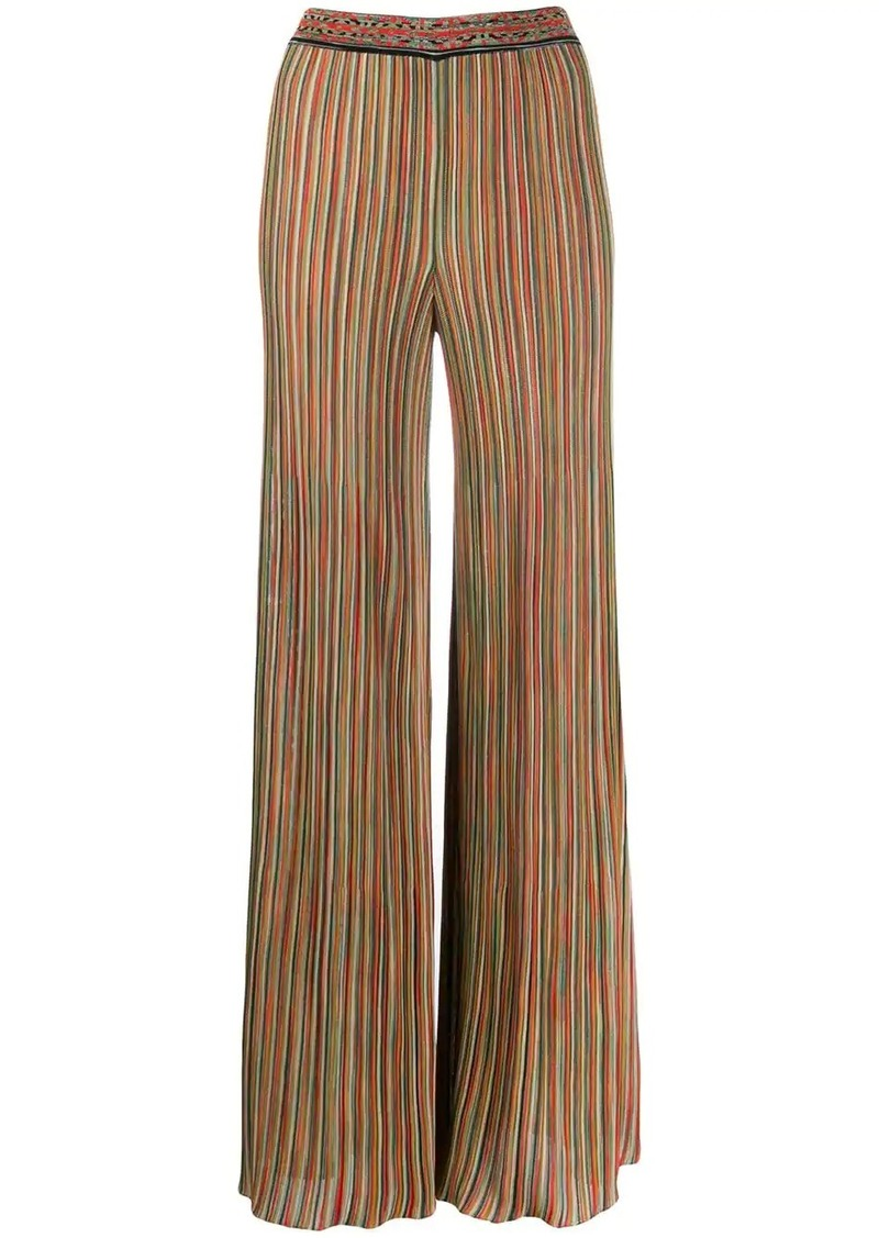 Missoni striped flares