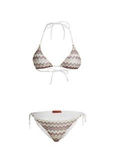 Missoni 2-Piece Zigzag Triangle Bikini Set