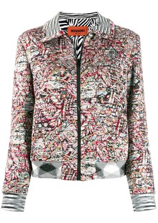 Missoni abstract knit jacket