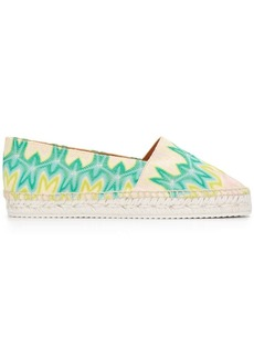 Missoni abstract pattern espadrilles