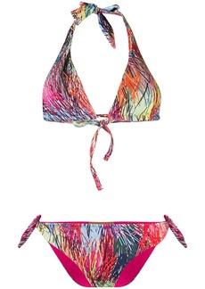 Missoni abstract patterned bikini set