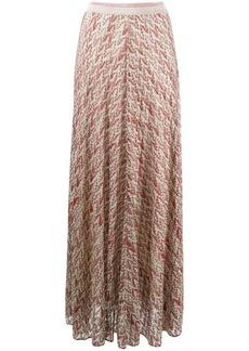 Missoni abstract print maxi skirt