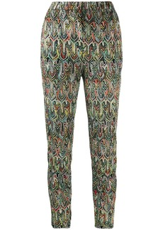 Missoni all-over print cropped trousers