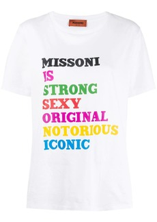 Missoni Anagram T-shirt