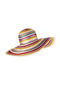 Missoni Big Striped Woven Floppy Sun Hat