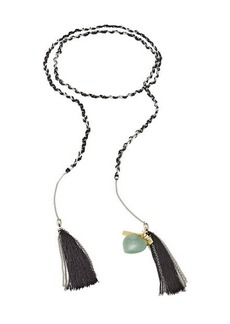 Missoni Braided Chain Tassel Bracelet