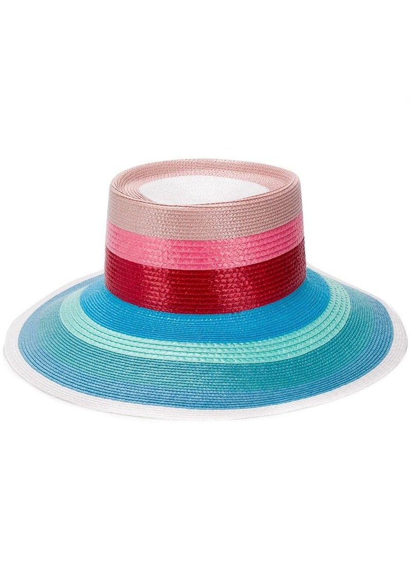 Missoni braided straw hat