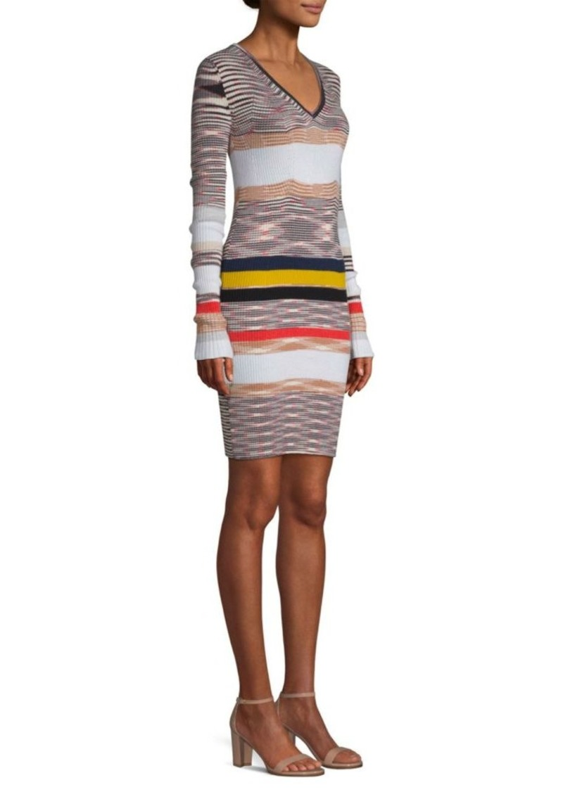 63a56386b20 Missoni Cashmere Striped Sweater Dress
