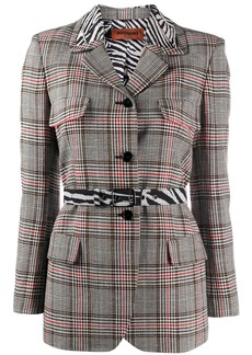 Missoni checkered fitted blazer