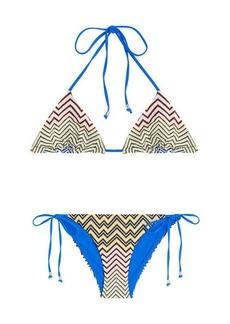 Missoni Chevron Knit Bikini