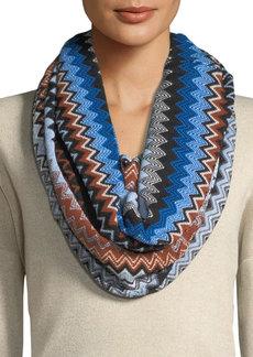 Missoni Chevron Knit Infinity Scarf