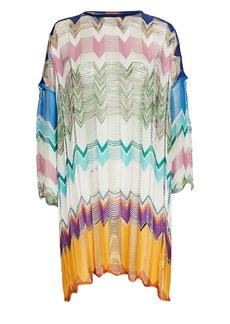 Missoni Chevron Knit Mini Kaftan Dress