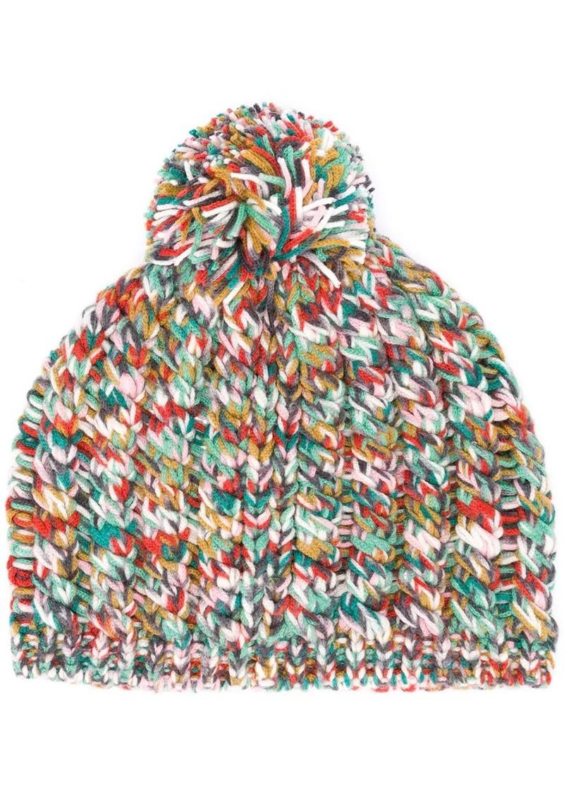 Missoni chunky knit beanie hat