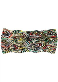 Missoni chunky knit headband