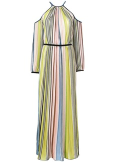 Missoni cold shoulder striped dress