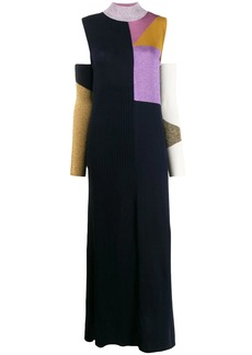 Missoni colour block long knitted dress