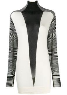 Missoni contrast sweater dress