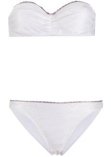 Missoni contrast trim bikini