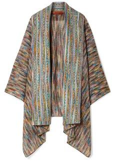 Missoni Crochet-knit Wool-blend Wrap
