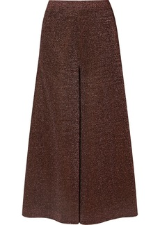 Missoni Cropped Silk-blend Lurex Wide-leg Pants