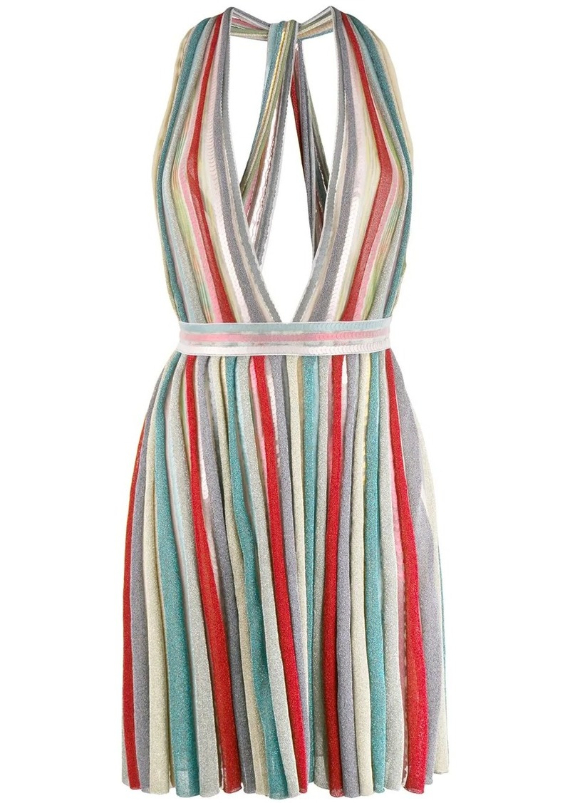 Missoni deep V-neck dress
