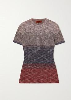 Missoni Degrade Crochet-knit Top