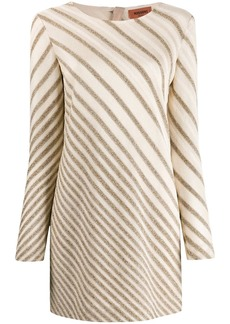 Missoni diagonal stripe mini dress