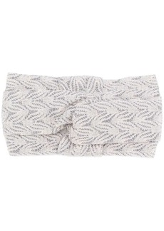 Missoni embroidered headband