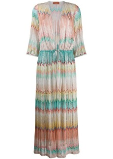 Missoni embroidered maxi dress