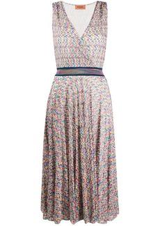 Missoni fine knit midi dress