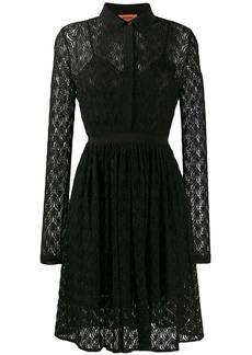 Missoni fine knit shirt dress