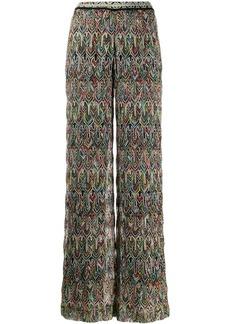 Missoni fine knit trousers