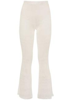 Missoni Flared Knit Macramé Pants