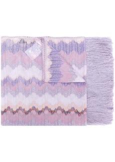Missoni fringed long scarf