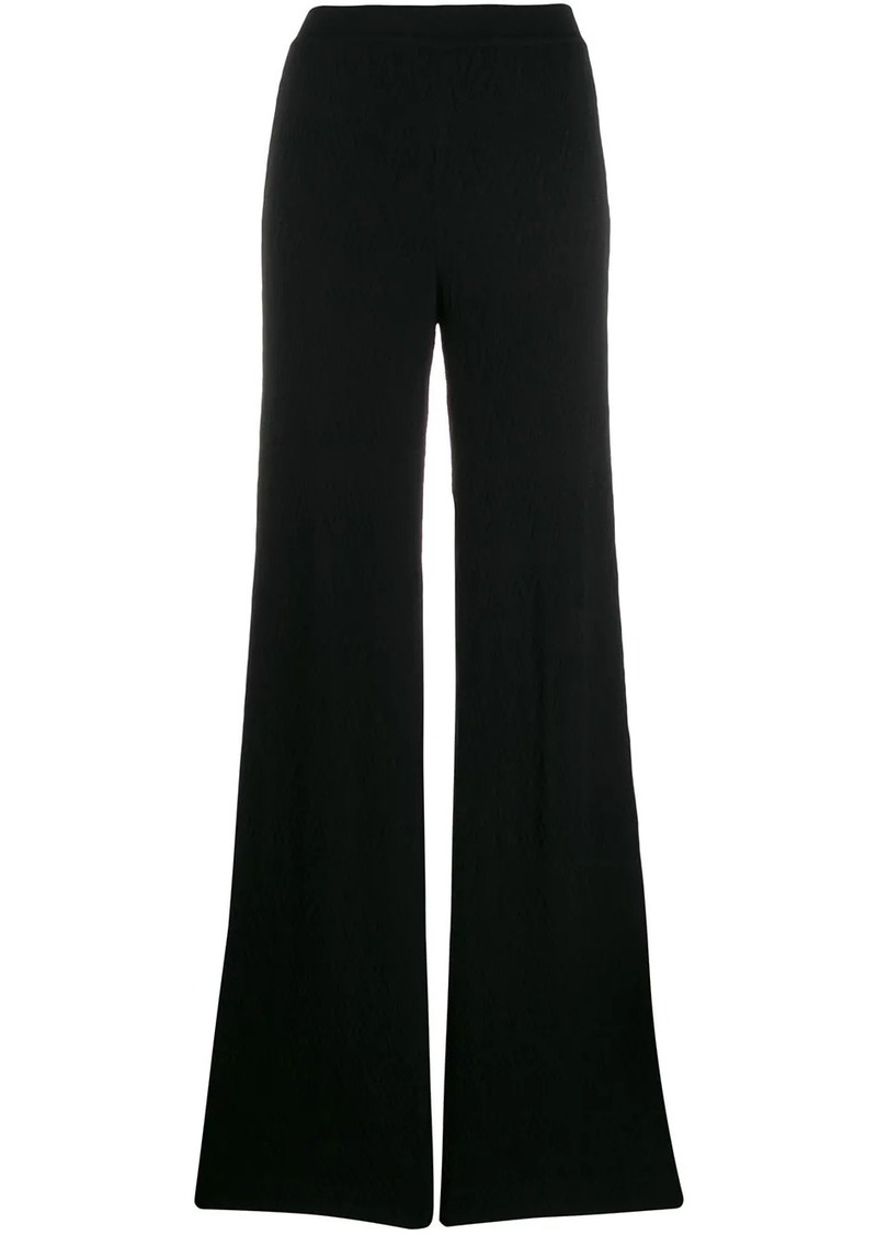 Missoni geometric knit trousers