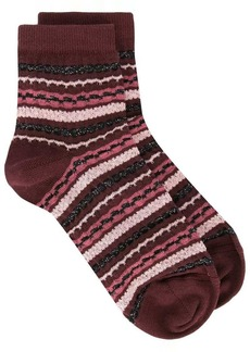 Missoni geometric pattern socks