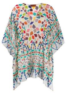 Missoni geometric print kaftan dress