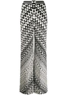 Missoni geometric wide-leg trousers