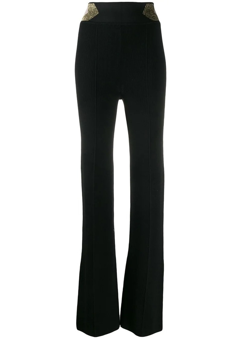 Missoni glitter detail high-waisted trousers