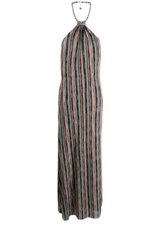 Missoni halterneck maxi dress