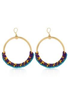 Missoni Iconic Chain Braided Hoop Earrings
