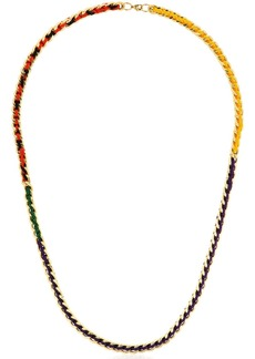 Missoni Iconic Chain Braided Long Necklace