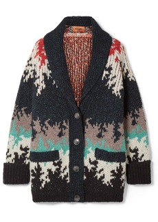 Missoni Intarsia Knitted Cardigan